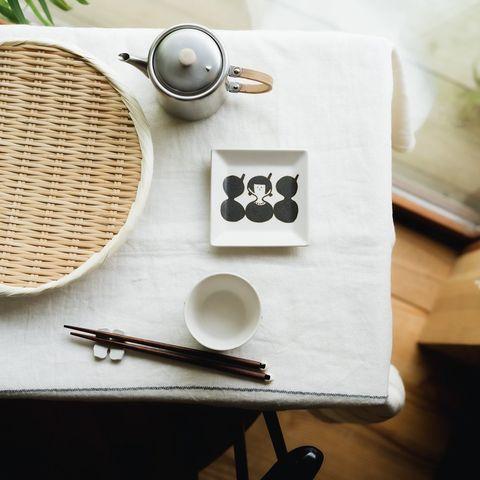 ユニークな絵柄が楽しめる豆皿