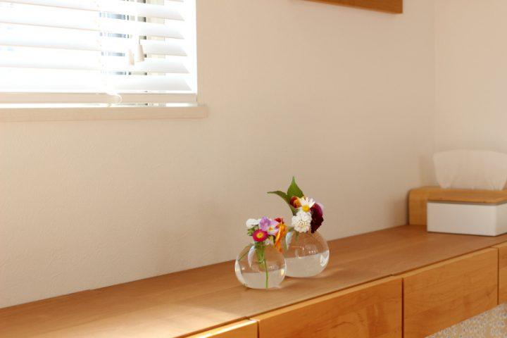小さめ花器の保管に「ファイルボックス・1/2」