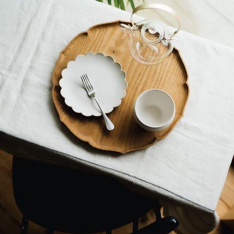 シンプルだけど形がかわいい豆皿