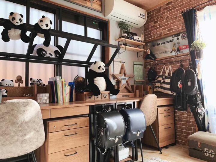 和室を大改造した子供部屋