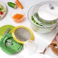 時短で簡単に作れる「サラダツールセット」。楽しく便利なキッチンツール!