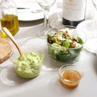 透明感が美しく食材が映える「ガラスボウル」。電子レンジや食洗機も使える!