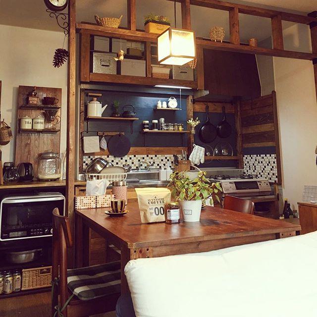 古いキッチン2
