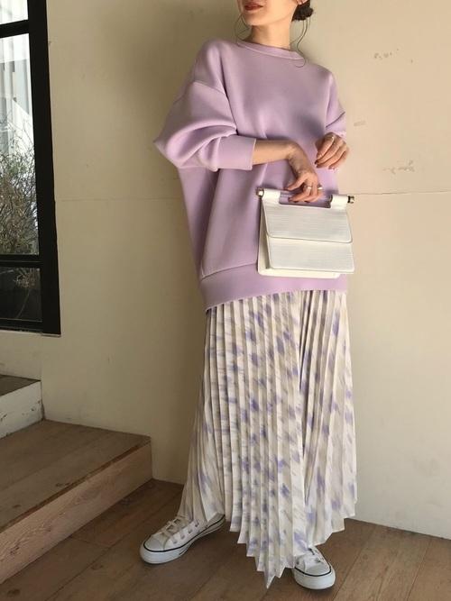 [ViS] イレヘムプリーツスカート