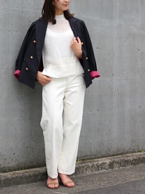 出典:zozo.jp [STYLE BAR] ダブルショートジャケット