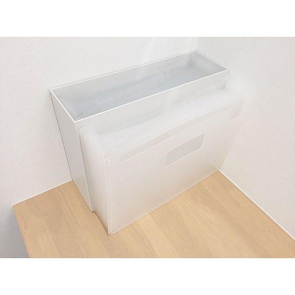 ハーフファイルボックスの収納アイデア
