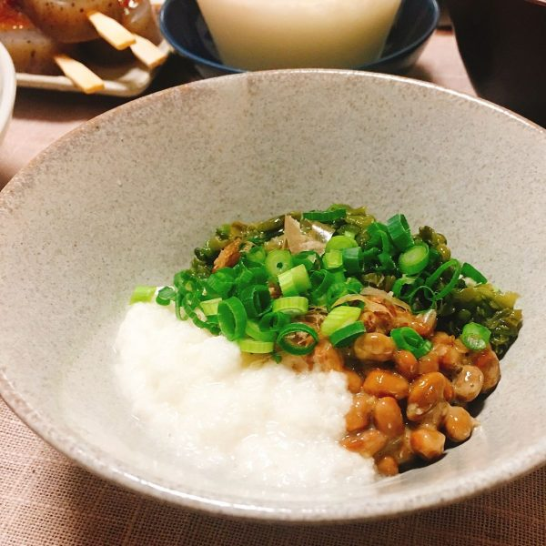 ご飯に合う和風小鉢!めかぶ納豆とろろレシピ