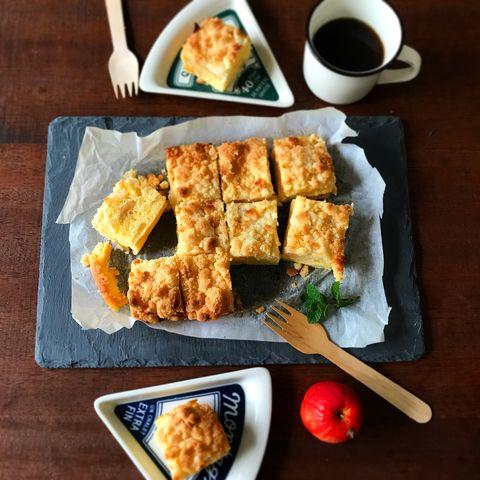 人気の伝統お菓子♪クランブルケーキレシピ
