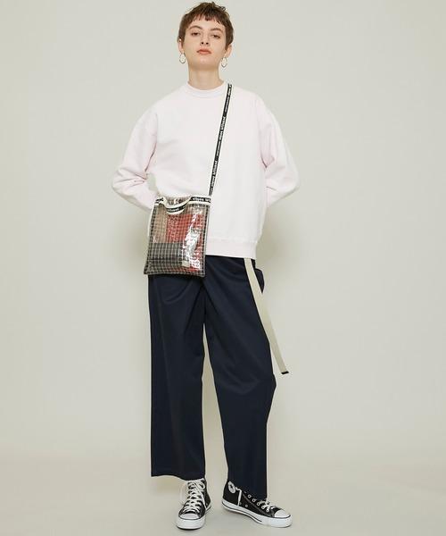 [STUDIOUS WOMENS] 【beautiful people(ビューティフルピープル)】《STUDIOUS別注》ビニールサコッシュバッグ