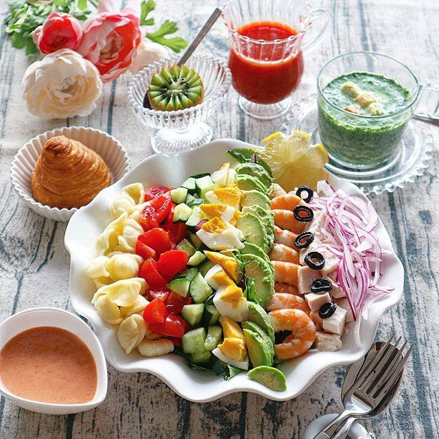栄養満点コブサラダ