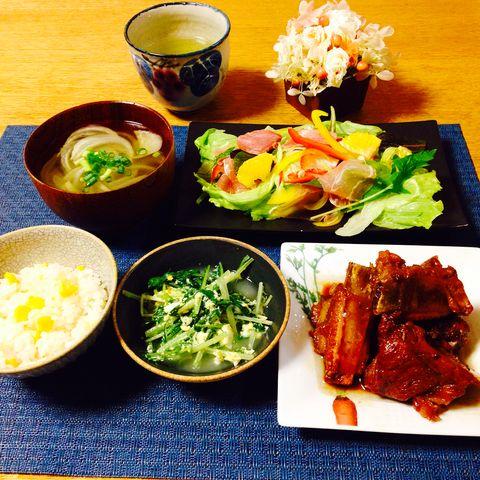 豪華!生ハムと彩り野菜の柑橘サラダレシピ