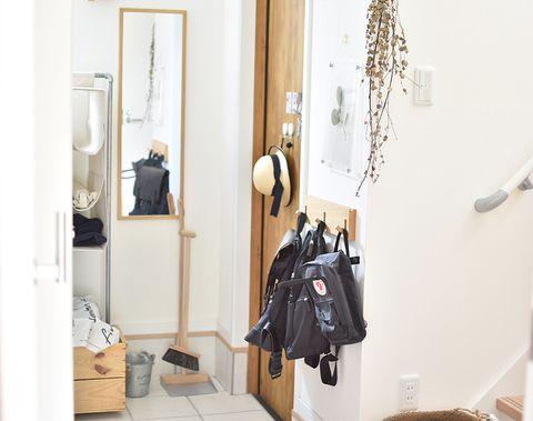 子供でも使いやすい玄関の収納実例
