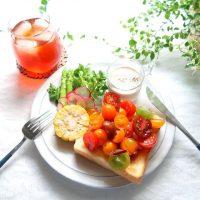 かわいいトーストアレンジレシピ集。食卓が映える豊富なアイデアをご紹介
