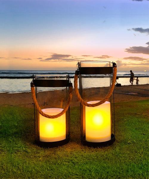[IDEA SEVENTH SENSE] LED Solar lantern Notte S