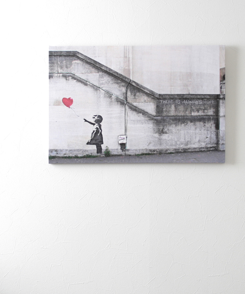 [ABBEY MARKET] バンクシー アートキャンバス