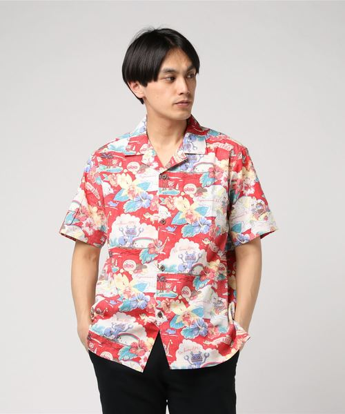 [BANDAI APPAREL SHOP] 日本製アロハシャツ大人