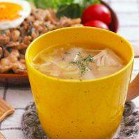 胃に優しいスープでほっと一息。風邪や疲れたときにおすすめの簡単レシピまとめ