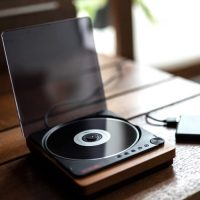 インテリアにもなる「おしゃれなCDプレーヤー」音楽のある暮らしを始めませんか?
