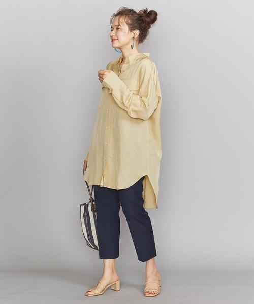 [BEAUTY&YOUTH UNITED ARROWS] BY フラップポケットオーバーサイズシャツ