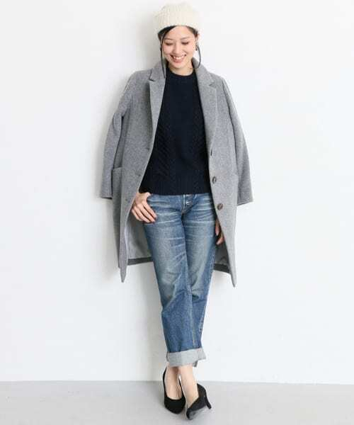 URBAN RESEARCH OUTLET] リブニットキャップ