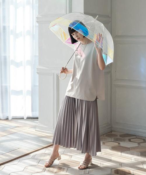 [Wpc./KiU] プラスチックアンブレラ(ビニール傘)バードケージ オーロラ3