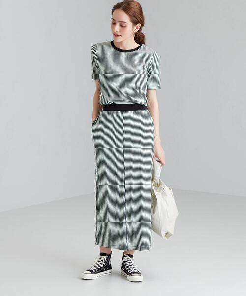 [green label relaxing] [ 別注 ][ ミラー ]★SC miller × GLR トップス + スカート セットアップ