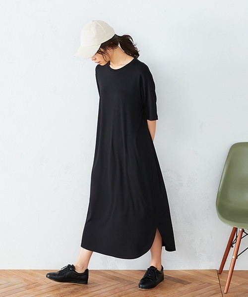 [COMME CA ISM] Tシャツ ワンピース