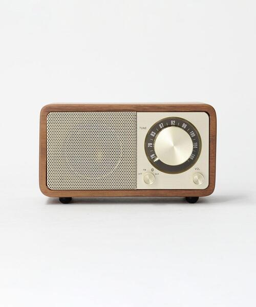 ダイヤルがおしゃれな北欧風ラジオ