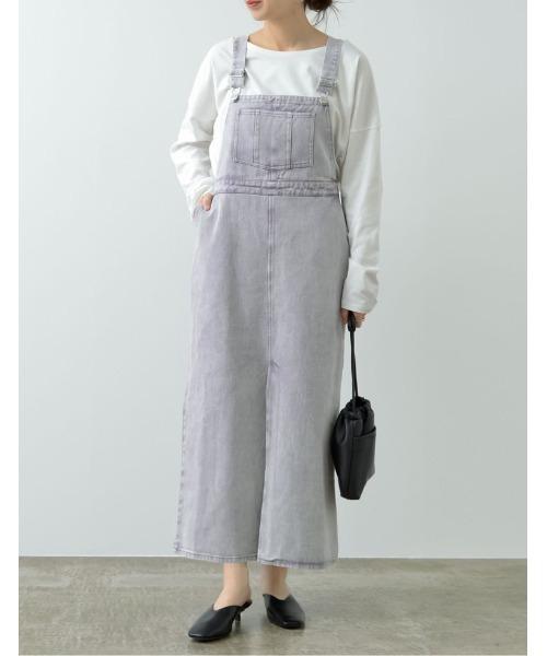 Re:EDIT デニムジャンパースカート