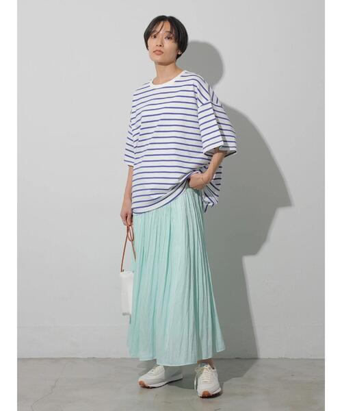 [AMERICAN HOLIC] ソフトプリーツギャザースカート *●