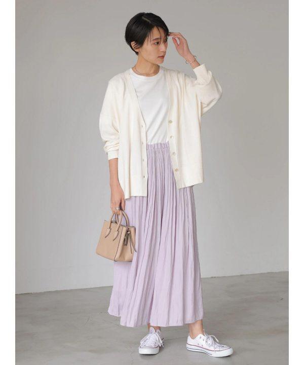 【AMERICAN HOLIC】ソフトプリーツギャザースカート