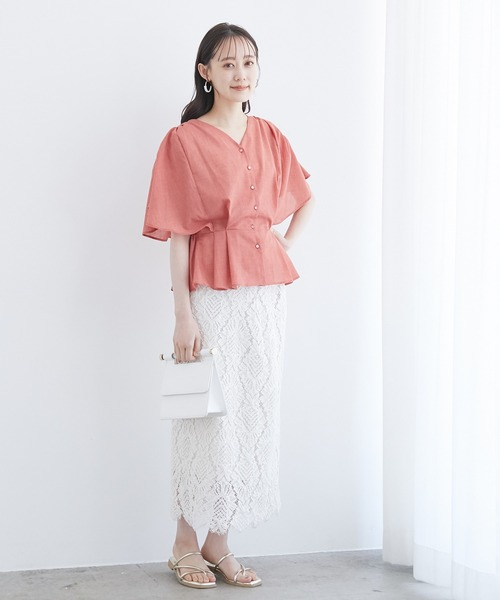 [ViS] 幾何学レーススカート