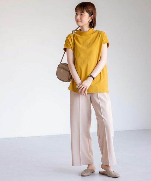 [coen] 【WEB限定カラー】リピT・UVカット/吸水速乾/接触冷感ハイネックTシャツ#