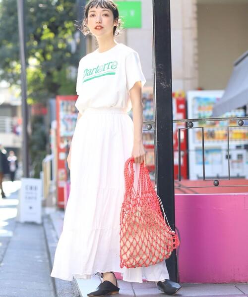 【FREAK'S STORE】ティアードスカート