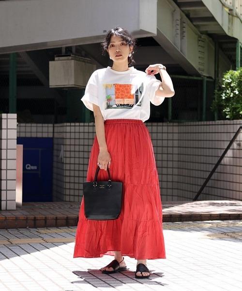 [FREAK'S STORE] ティアードスカート