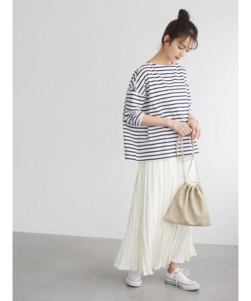 ウェーブプリーツスカート