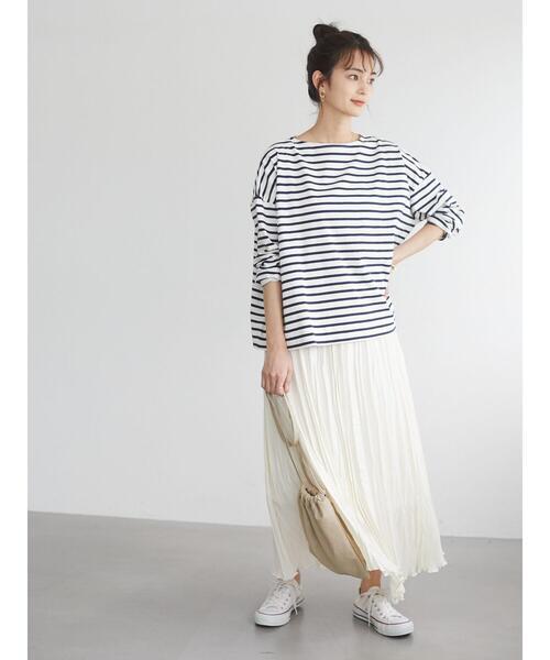 [CRAFT STANDARD BOUTIQUE] ウェーブプリーツスカート
