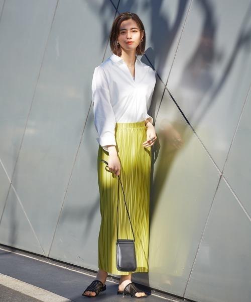 [Abahouse Devinette] 【店舗限定販売】ランダムプリーツスカート