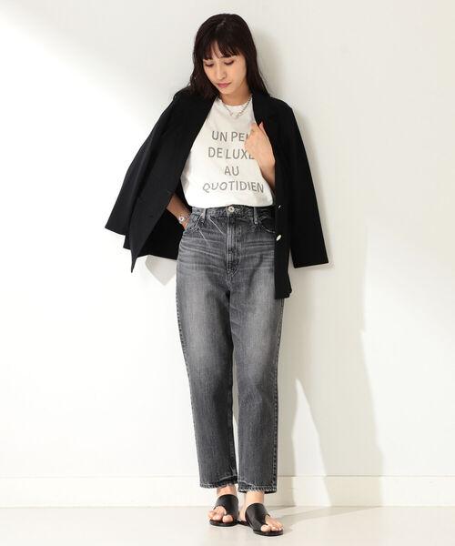 [BEAMS WOMEN] Demi-Luxe BEAMS / カノコ テーラードジャケット