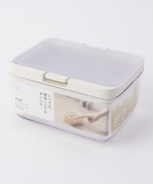 [WORLD ONLINE STORE SELECT] MARNA (マーナ) GOOD LOCK CONTAINER 保存容器 ワイドショート K762CL