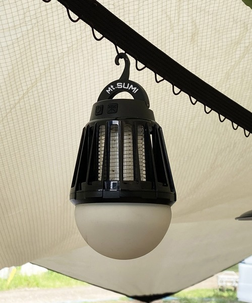 [THE BAREFOOT] 【 Mt.SUMI / マウントスミ 】LED MOSQUITO LANTERN LEDライト モスキート ランタン アウトドアでの虫除けに 6段階ライト切替 CUR