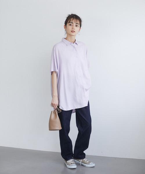 [CRAFT STANDARD BOUTIQUE] ドロップショルダーBIGシャツ *◇