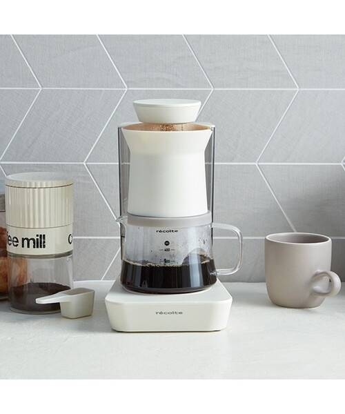 [WORLD ONLINE STORE SELECT] recolte (レコルト) レインドリップコーヒーメーカー RDC-1(WH)