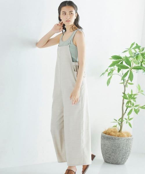 [LIPSTAR] 【WEB別注】リネンライクサロペット