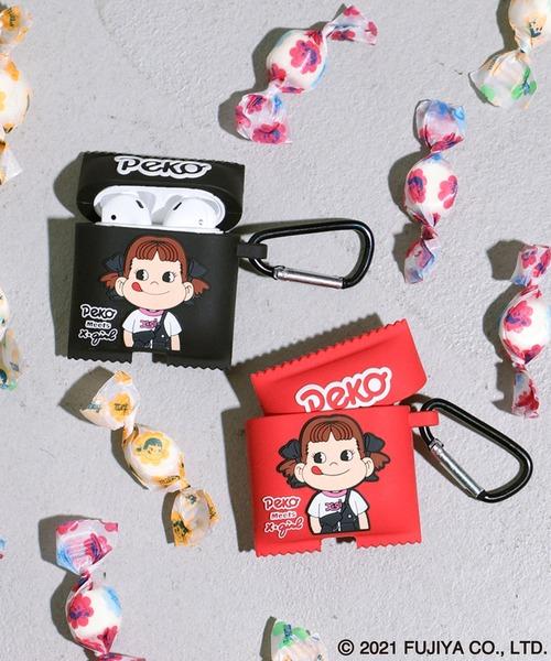 [X-girl] X-girl × PEKO AirPods CASE