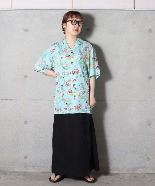 [FREDY&GLOSTER] 【TWO PALMS/トゥーパームス】Hawaiian Shirt