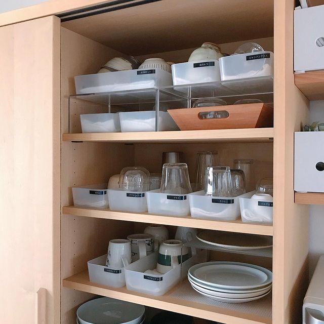 無印のキッチン収納アイテム3