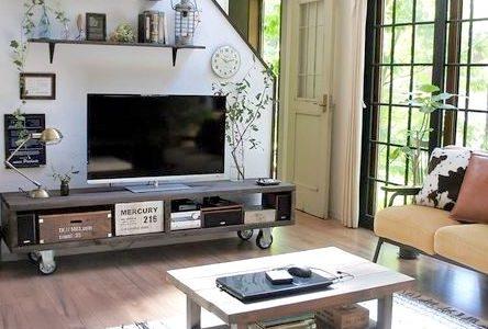 テレビ台をお部屋に合わせて簡単リメイク!使いやすくておしゃれなアイデア実例