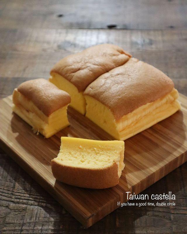ふわぷる食感が大人気♡台湾カステラレシピ