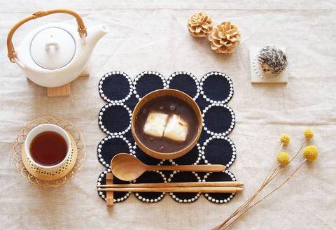 和の食材と相性◎木製の食器